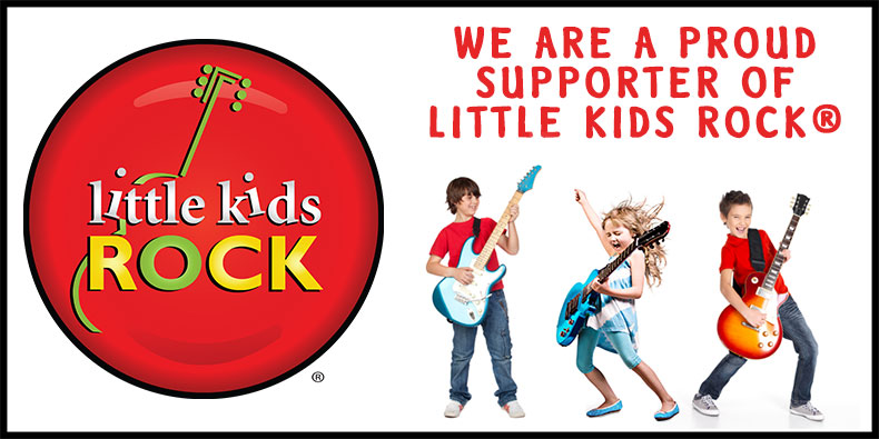 Proud Supporter for Little Kids Rock