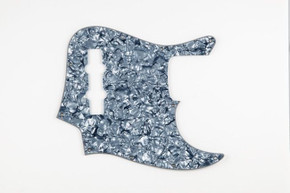NEW * Jazz J Bass Black Pearloid 4 Ply PICKGUARD for Fender Standard Jazz Bass