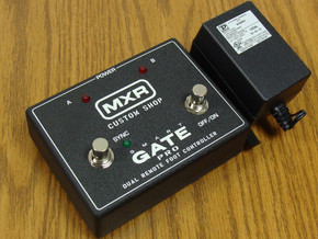 NEW MXR M235FC Smart Gate Pro Noise Gate PEDAL & POWER ADAPTER Footcontroller