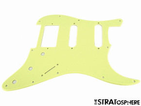 * NEW Mint Green HSS Stratocaster PICKGUARD for Fender Strat 1 Ply Standard