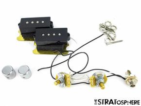 Fender American Professional Precision P Bass V Mod PICKUPS POTS KNOBS & Jack