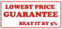 Lowest Price Guarantee. Beat 5%!