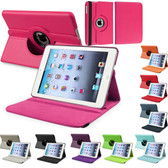 iPad 2 3 4 Smart 360 Rotate Case Cover Apple iPad2 iPad3 iPad4