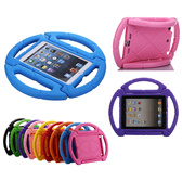 Kids iPad 2 3 4 Case Cover Shockproof Children Apple Tough Skin Wheel