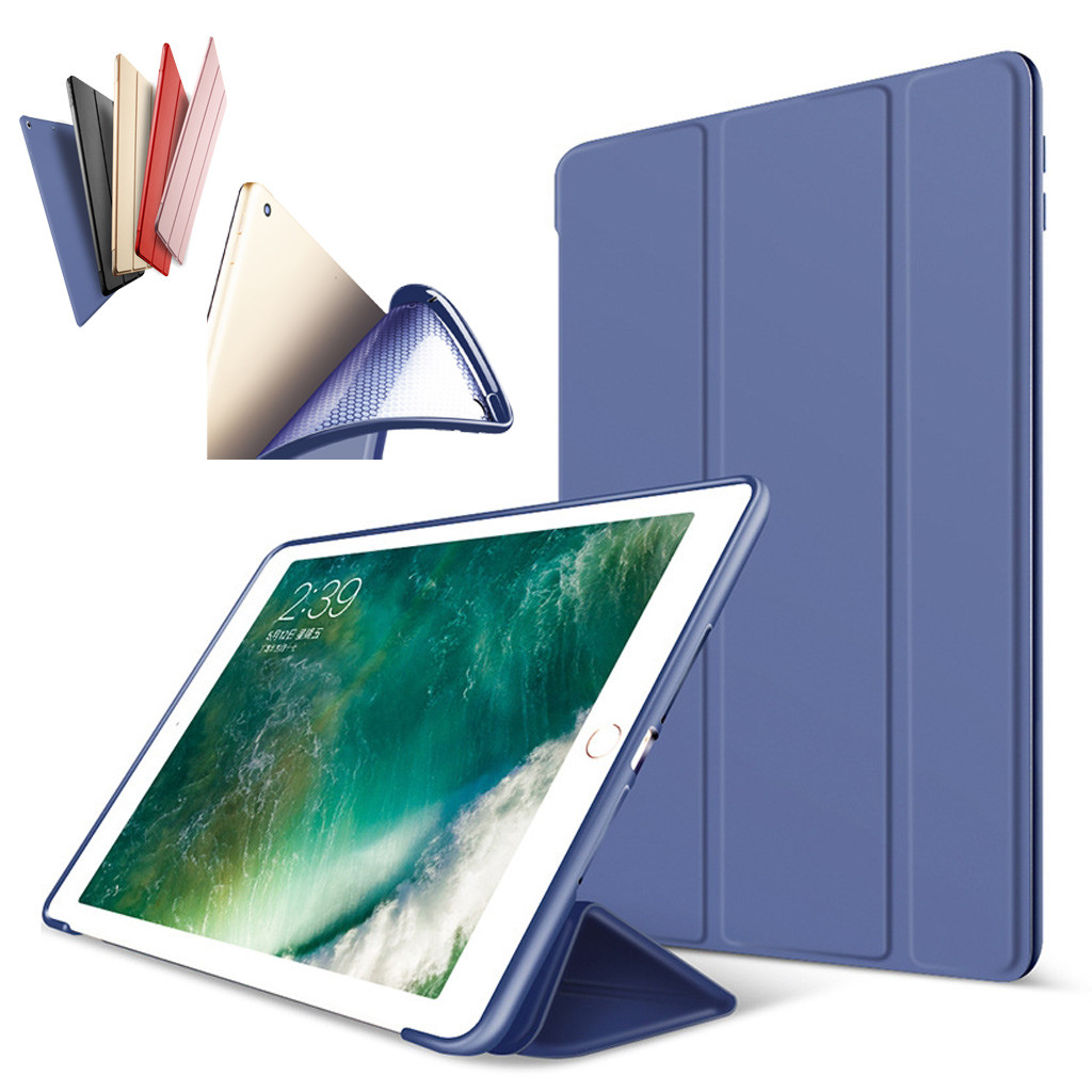 Ipad 97 2017 New Smart Cover Soft Silicone Back Case Apple Ipad5 Flip Book Samsung Galaxy Tab A 8 Inch 80 Sm T385 Loading Zoom