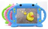 Kids iPad 9.7 2017 Silicone Case Cover Shockproof Child Apple Letter