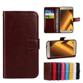 Folio Case Samsung Galaxy A5 2017 Handset Leather Cover A520 Phone