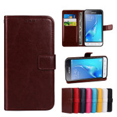 Folio Case For Samsung Galaxy J1 2016 Leather Case Cover J120 J120F