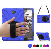 "Heavy Duty Strap Samsung Galaxy Tab A 10.1"" S Pen P580 P585 Case Cover"