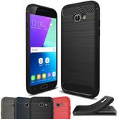 Slim Samsung Galaxy A5 2017 Carbon Fiber Soft Carbon Case Cover A520