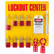 Lockout Tagout Station, 8 Padlock
