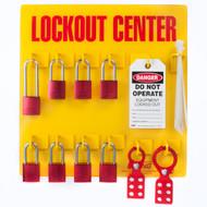 Lockout Tagout Station, 8 Padlock