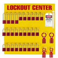 Lockout Tagout Station, 28 Padlock