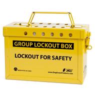Group Lockout Box (Yellow)