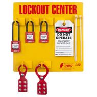 Lockout Station 3 Padlock Stocked