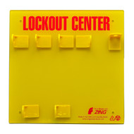 Lockout Station 3 Padlock Unstocked