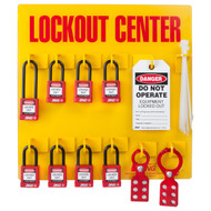 Lockout Station, 8 Padlock Stocked