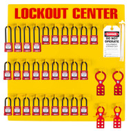 Lockout Station 28 Padlock Stocked