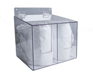 Sleeve Guard Dispenser, Hinged Lid