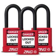 Padlock, Keyed Alike Set (3)