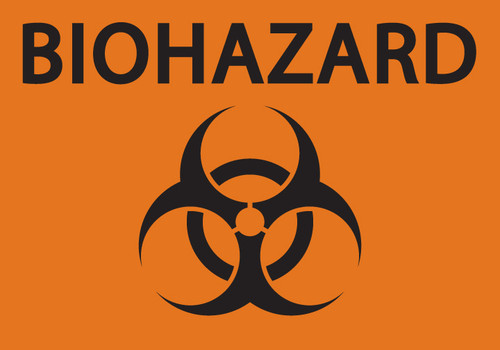 Biohazard Sign With Symbol Safety Signs Zing