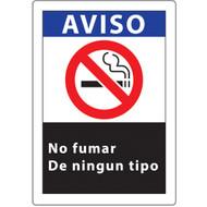 Aviso, No Fumar, De Ningun Tipo