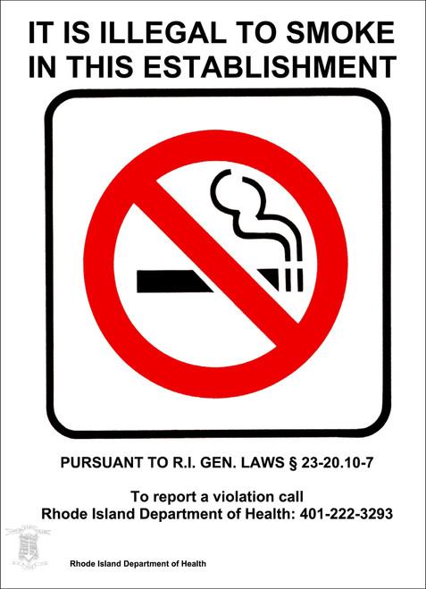 rhode island no smoking sign no smoking signs zing