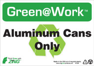 Aluminum Cans Only, Recycle Symbol