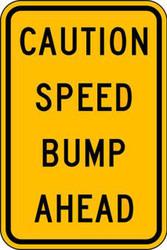 Eco Traffic Sign, 18X12, HIP