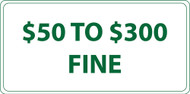 Eco Parking Sign, 6X12, EGP