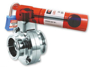Pull Handle Butterfly Valve Lockout