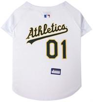 Oakland Athletics Dog Jersey