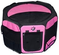 Octagon Pet Pens - Pink