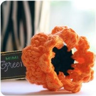 Halloween Candy Corn Flower for Dogs