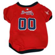 Atlanta Braves Dog Jersey #2