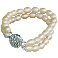 Fresh Water Natural Pearls Necklace for Dogs