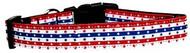 Stars and Stripes Nylon Dog Collar