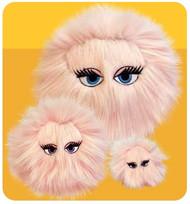 iBalls: Large Pink-I Dog Toy