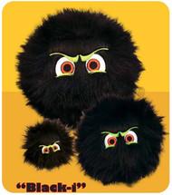 iBalls: Medium Black-I Dog Toy
