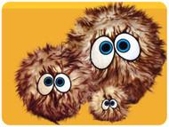 iBalls: Medium Brown-I Dog Toy
