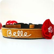 Belle' Personalized Dog Collar