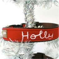 Holly' Personalized Dog Collar