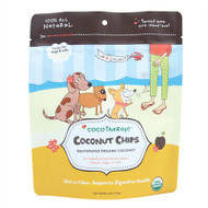 Coco Therapy Coconut Chips for Dogs Pack of 2