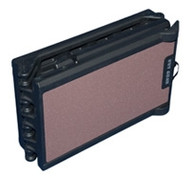 Portable Full Length Tri-Fold Pet Ramp - Chocolate / Black