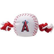 Los Angeles Angels Nylon Baseball Rope Dog Toy