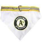 Oakland Athletics Dog Bandana Collar