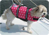 Polka Dot Dog Life Jacket