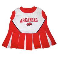 Arkansas Razorbacks Cheerleader Dog Dress