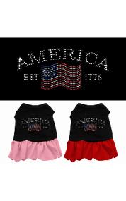 Classic America Dog Dress