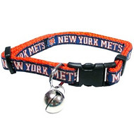 New York Mets Cat Collar
